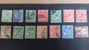 Malta Various Victoria, Edward VII and George V Used