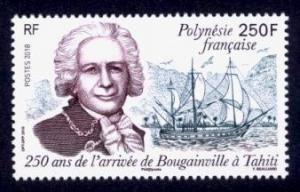 French Polynesia Sc# 1208 MNH 250th Anniversary of Arrival of Bougainville