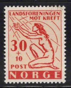 Norway Scott B53 MNH** 1953 Cancer research semi-postal