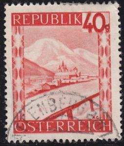 Austria 506 USED 1947 Mariazell, Styria 40g