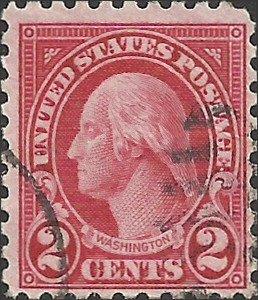 # 583 Used Carmine George Washington
