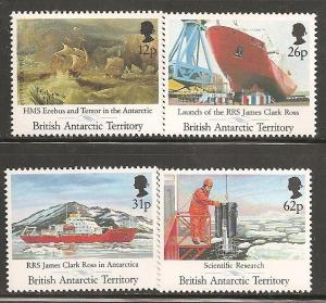 British Antarctic Territory SC 184-7 MNH