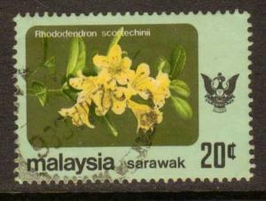 Sarawak   #253a  used  (1983)  c.v. $1.10