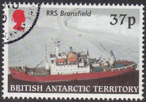 British Antarctic Territory 2000 used Sc #291 37p RRS Bransfield