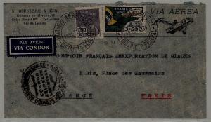 Brazil/France Zeppelin cover 19.9.35