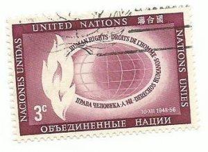 UN New York #47   Mint NH VF   1956  PD