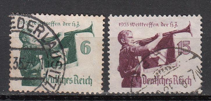 Germany - 1935 Youth Meeting  Sc# 463/464 (5951)