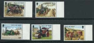Isle of Man MUH SG 629-633 Margin Copy