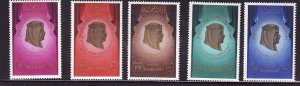 Bahrain-Sc#290-4- id7-unused NH set-Coronation anniversary-1981-