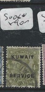 KUWAIT   (PP2704B) ON  INDIA KGV  SERVICE  4 A    SG O8   VFU