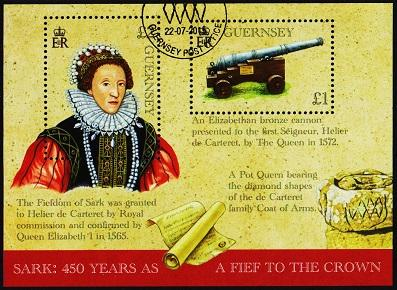 Guernsey. 2015 Miniature Sheet. Fine Used