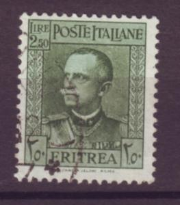 J21253 Jlstamps 1931 eritrea hv of set used #157 king