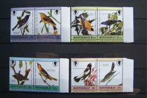 Montserrat 1989 MNH Birds Audubon