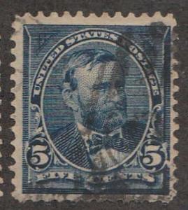 U.S. Scott #281 Grant Stamp - Used Single