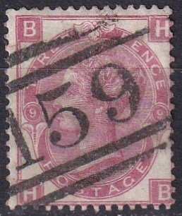 Great Britain #49 Plate 9   F-VF Used CV $67.50 (Z1332)