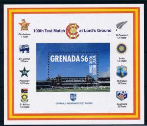 [58179] Grenada 2000 Cricket grounds MNH Sheet