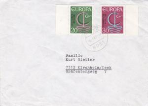 West Germany 1967 Europa Set Cover Used Vgc