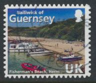 Guernsey  Fisherman Beach Hern   - 2015 issue  see details