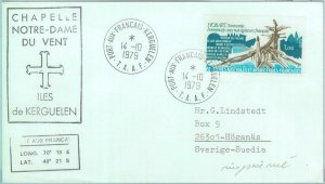 86540 - Terres australes et antarctiques TAAF - Postal History - COVER to SWEDEN