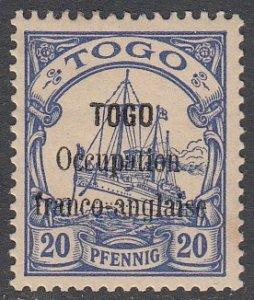 Togo 158 MH (see Details) CV $55.00