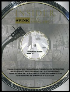 Spink Insider #33, Spring 2019. Abbey Road Studios Recordings