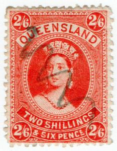 (I.B) Australia - Queensland Revenue : Stamp Duty 2/6d
