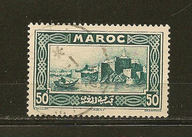 French Morocco 135 Used