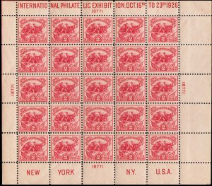 United States Scott 630 Unused lightly hinged with creases in margin.