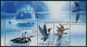Finland 925a MNH Water Birds, Ducks
