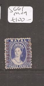Natal QV 3d SG 61 MOG (1atw)