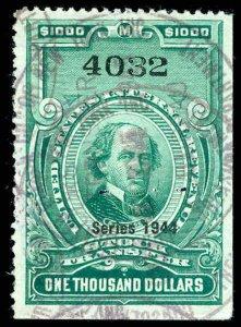 U.S. REV. DATED GREENS RD185  Used (ID # 83067)