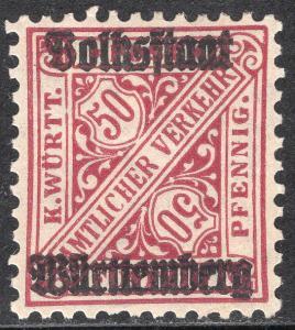 WURTTEMBERG SCOTT O161