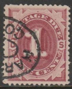 U.S. Scott #J22 Postage Due Stamp - Used Single