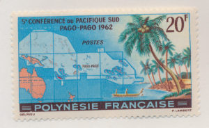 French Polynesia Stamp Scott #198, Mint Lightly Hinged - Free U.S. Shipping, ...