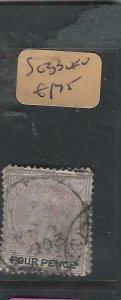LAGOS  (PP1104B)  QV  4  D  SG 33    VFU