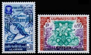 Algeria Scott 380-381 (1967) Mint NH VF C