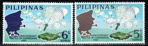 Philippines #971-2 MNH CV $7.00  (X1363)