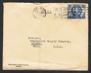 3½d Mitchell & 3½d Newcastle on 2 covers to the USA NS761