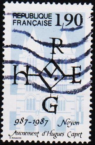 France. 1987 1f90 S.G.2781 Fine Used