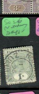 ZULULAND  (PP2305B)  QV  1/-   SG 26  NONDWENI      VFU