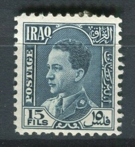 IRAQ; 1934 early Ghazi issue Mint hinged 15f. value