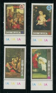 Dominica MNH 348-51 Paintings