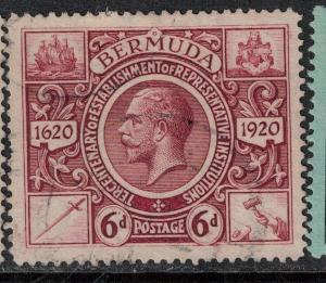 Bermuda 1921 SC 78 Used SVC 65.00 Stamp
