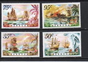 Barbuda 209-212 MNH