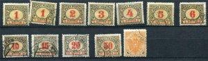 Bosnia & Herzegovina 1901-4 Used/Unused Accumulation 6033