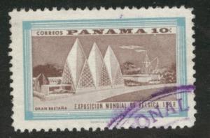 Panama  Scott 421 used stamp