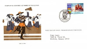 Chile, Worldwide First Day Cover