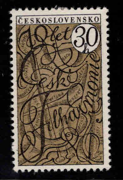 Czechoslovakia Scott 1366 MH* stamp