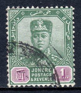 Malaya (Johore) - Scott #117 - Used - SCV $1.60