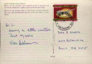 Colombia, Airmail, Aviation